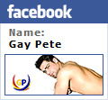 Find me on Facebook - Gay-Pete's-Site-for-Gays-Men-Muscle-Hunks-Boys-Bears-and-MORE-Like-and-Follow-on-Facebook-for-Updates